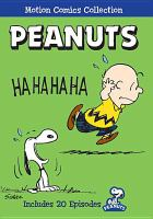 Cover image for Peanuts [videorecording DVD] : the complete Motion Comics collection