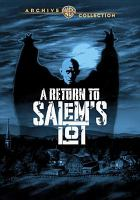 Cover image for A return to Salem's Lot