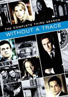 Cover image for Without a trace. Season 3, Complete