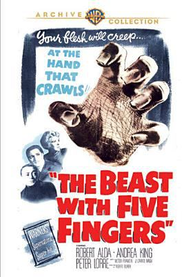 Cover image for The beast with five fingers [videorecording DVD]
