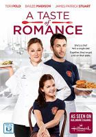 Cover image for A taste of romance