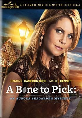 Cover image for A bone to pick [videorecording DVD] : An Aurora Teagarden mystery