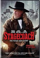 Cover image for Stagecoach [videorecording DVD] : the Texas Jack story