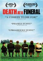 Cover image for Death at a funeral