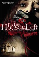 Cover image for The last house on the left [videorecording DVD] (David Hess version)