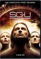 Cover image for SGU, Stargate universe. Season 1, Complete