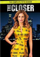Cover image for The closer. Season 5. Disc 1