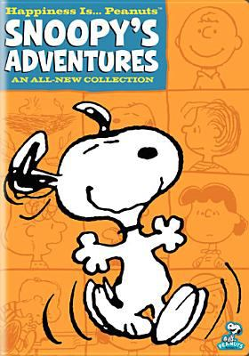Cover image for Happiness is ... Peanuts [videorecording DVD] : Snoopy's adventures