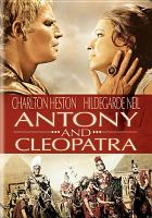 Cover image for Antony and Cleopatra