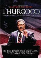Cover image for Thurgood