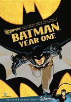 Cover image for Batman year one