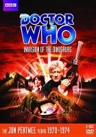 Cover image for Doctor Who [videorecording DVD] : Invasion of the dinosaurs