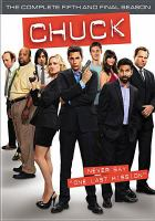 Cover image for Chuck. Season 5, Complete and Final [videorecording DVD]