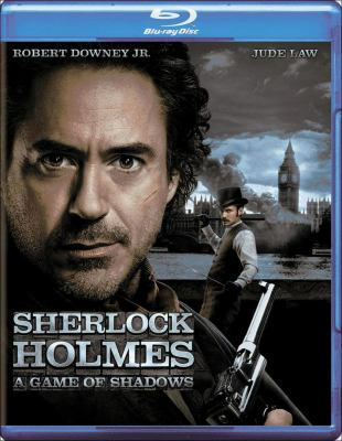 Cover image for Sherlock Holmes : a game of shadows [videorecording Blu-ray]