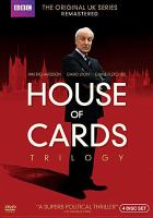 Cover image for House of cards trilogy, Complete (Ian Richardson version)