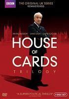 Imagen de portada para House of cards trilogy, Complete (Ian Richardson version)