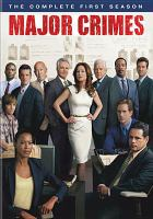 Cover image for Major crimes. Season 1, Complete