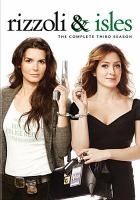Cover image for Rizzoli & Isles. Season 3, Complete
