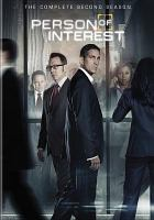 Cover image for Person of interest. Season 2, Complete