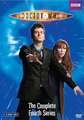 Cover image for Doctor Who. Season 4, Complete [videorecording DVD]