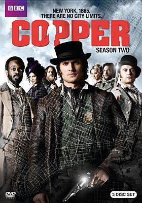 Cover image for Copper. Season 2, Complete