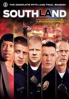 Imagen de portada para Southland. Season 5, Complete Uncensored : the final season