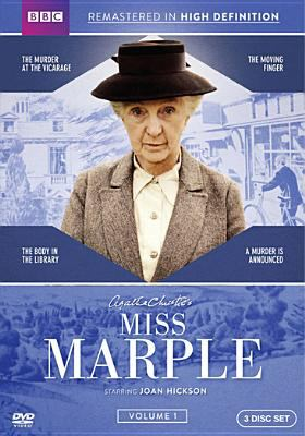 Cover image for Agatha Christie's Miss Marple. Volume 1 [videorecording DVD] : (Joan Hickson version)