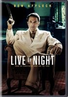 Cover image for Live by night [videorecording DVD]