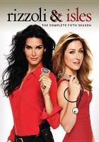 Cover image for Rizzoli & Isles. Season 5, Complete [videorecording DVD]