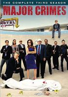 Cover image for Major crimes. Season 3, Complete [videorecording DVD]