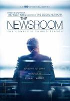 Cover image for The newsroom. Season 3, Complete [videorecording DVD]