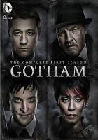 Imagen de portada para Gotham. Season 1, Complete [videorecording DVD]