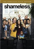 Cover image for Shameless. Season 5, Complete [videorecording DVD]