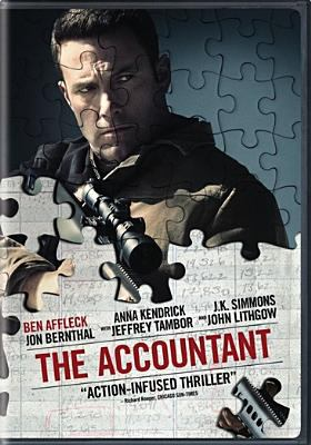 Cover image for The accountant [videorecording DVD]