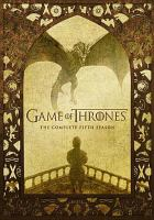 Cover image for Game of thrones. Season 5, Complete [videorecording DVD]
