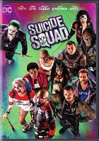 Cover image for Suicide Squad [videorecording DVD]