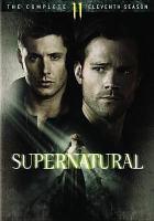 Cover image for Supernatural. Season 11, Complete [videorecording DVD]