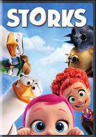 Cover image for Storks [videorecording DVD]