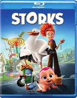 Cover image for Storks [videorecording Blu-ray]