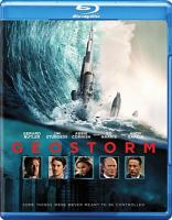 Cover image for Geostorm [videorecording Blu-ray]