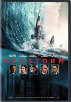 Cover image for Geostorm [videorecording DVD]