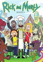 Cover image for Rick and Morty. Season 2, Complete [videorecording DVD]