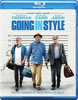 Cover image for Going in style [videorecording Blu-ray]