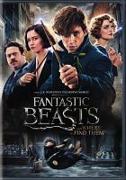 Cover image for Fantastic beasts and where to find them [videorecording DVD]