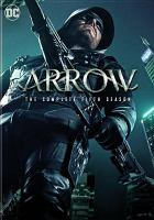 Cover image for Arrow. Season 5, Complete [videorecording DVD]