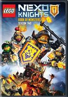 Cover image for LEGO Nexo Knights. Season 2, Complete [videorecording DVD] : Book of monsters