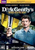 Cover image for Dirk Gently's Holistic Detective Agency. Season 1, Complete [videorecording DVD] (Elijah Wood version)