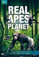 Cover image for Real apes of the planet [videorecording DVD] : the amazing world of monkeys, apes and lemurs