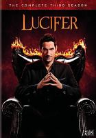 Cover image for Lucifer. Season 3, Complete [videorecording DVD]