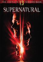 Cover image for Supernatural. Season 13, Complete [videorecording DVD].